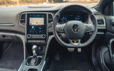 10 Renault Megane E Tech PHEV road test 2021 dashboard