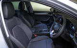 Seat Leon 2020 road test review - cabin