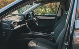 Seat Leon eHybrid 2020 road test review - cabin