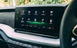Skoda Octavia Estate 2020 road test review - infotainment