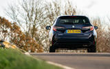10 suzuki swace 2021 uk first drive review on road rear