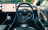 Tesla Model 3 road test - steering wheel
