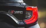 10 Toyota GR Yaris 2021 UK road test review rear lights