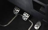 Toyota Yaris GRMN pedals