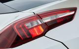 Vauxhall Grandland X Hybrid4 2020 road test review - daytime running rear lights