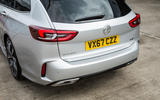 Vauxhall Insignia Sports Tourer GSI review rear end