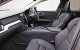 Volvo V60 2018 road test review cabin