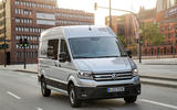 Volkswagen e-Crafter 2018 review - on the road front