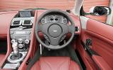 Aston Martin DBS dashboard