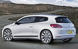 Volkswagen Scirocco rear quarter