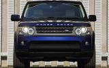 Range Rover Sport front end