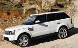 Range Rover Sport hill descent