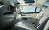 Alpina B7 2019 review - rear seats