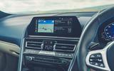 11 Alpina B8 Gran Coupe 2021 road test review centre console