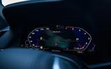 Alpina XB7 2020 road test review - instruments