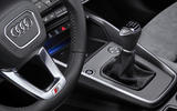 Audi A3 Sportback 2020 road test review - gearstick