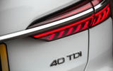 Audi A6 Avant 2018 road test review - rear lights