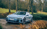 11 audi e tron gt 2021 lhd uk first drive review static front 0