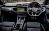 Audi RS Q3 2020 road test review - dashboard