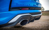 Audi RS Q3 Sportback 2020 road test review - exhausts