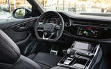 Audi RS Q8 2020 road test review - dashboard