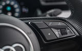Audi S3 Sportback 2020 road test review - steering wheel buttons