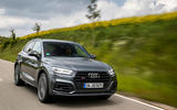 Audi SQ5 TDI 2020 road test review - on the road front