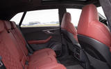 Audi SQ8 2019 road test review - rear seats