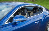 Bentley Continental GT 2018 Autocar road test review pillars