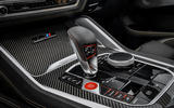 BMW X6 M Competition 2020 road test review - centre console