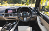 BMW X7 2020 road test review - dashboard