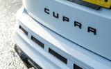 Cupra Ateca 2019 road test review - rear badge