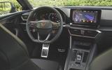 Cupra Leon 2020 road test review - dashboard