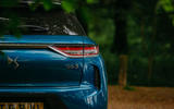 DS 3 Crossback 2019 road test review - rear lights