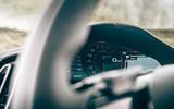 Ferrari Roma 2020 road test review - instruments