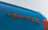 Ford Ranger Raptor 2019 road test review - rear badge