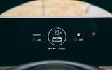 Honda e 2020 road test review - instruments