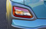 Hyundai Kona Electric 2018 road test review - rear foglights