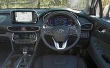 Hyundai Santa Fe 2019 road test review - dashboard