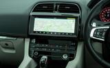 Jaguar F-Pace SVR 2019 road test review - infotainment
