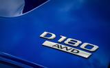 Jaguar E-Pace review derivative logo