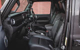 Jeep Wrangler 2019 road test review - cabin