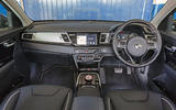 Kia e-Niro 2019 road test review - dashboard