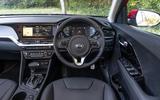 11 Kia Niro 2021 road test review dashboard