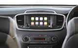 Kia Sorento 2018 road test review infotainment Apple CarPlay