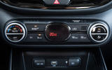 Kia Soul EV 2019 European first drive - climate controls