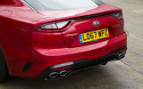 Kia Stinger GT line 2018 review rear end
