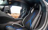 Lamborghini Aventador SVJ 2019 road test review - seats