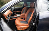 Maserati Levante S GranLusso 2019 road test review - front seats