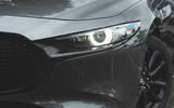 Mazda 3 Skyactiv-X 2019 road test review - headlights